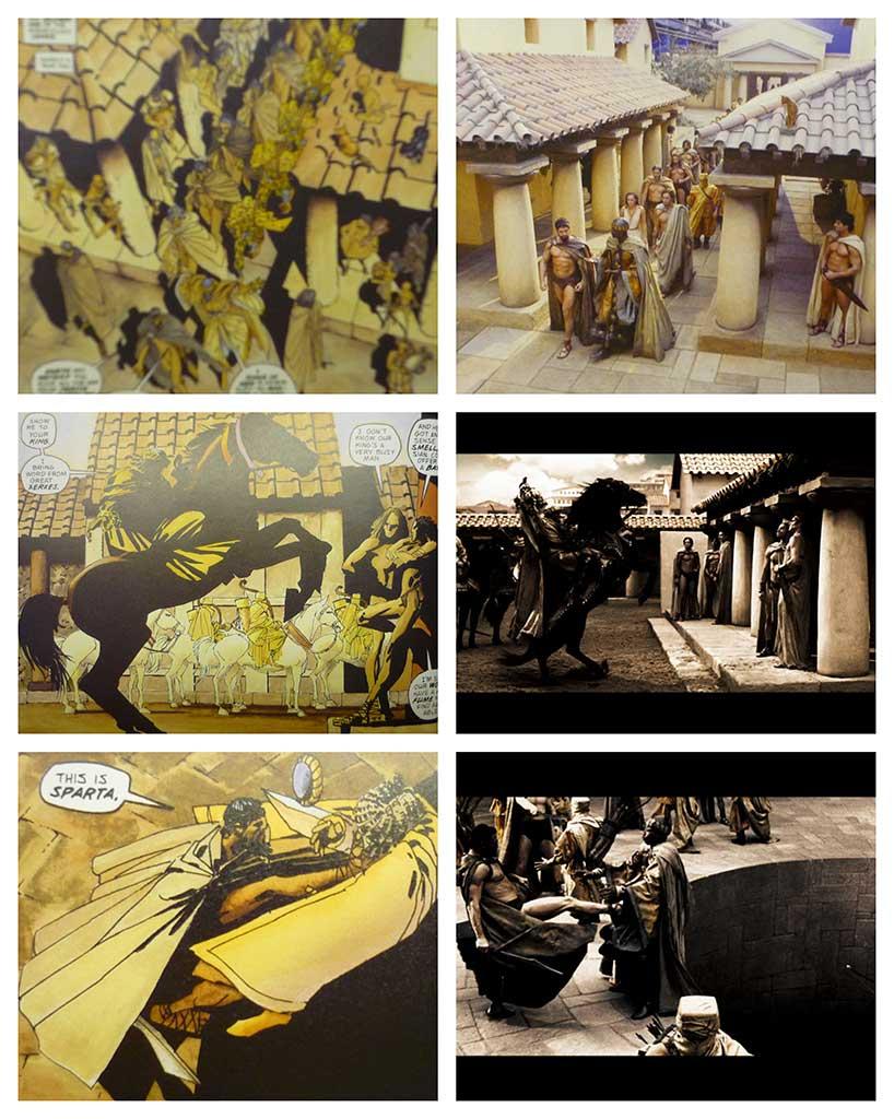 Adapting 300: Mise en scène & Visual Effects | The World of Apu