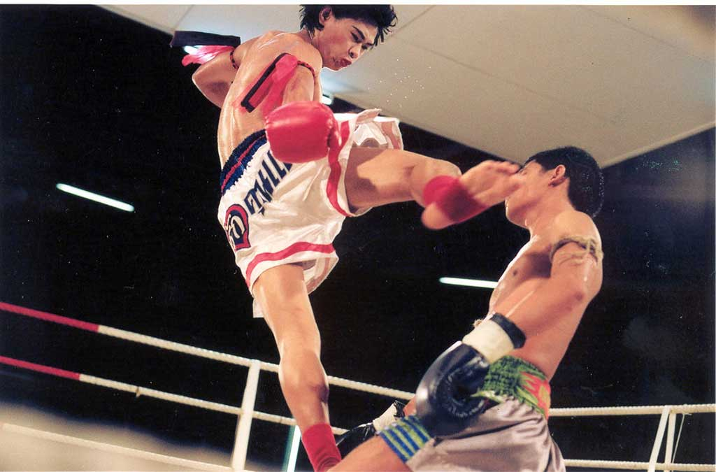 A still from Ekachai's film Beautiful Boxer