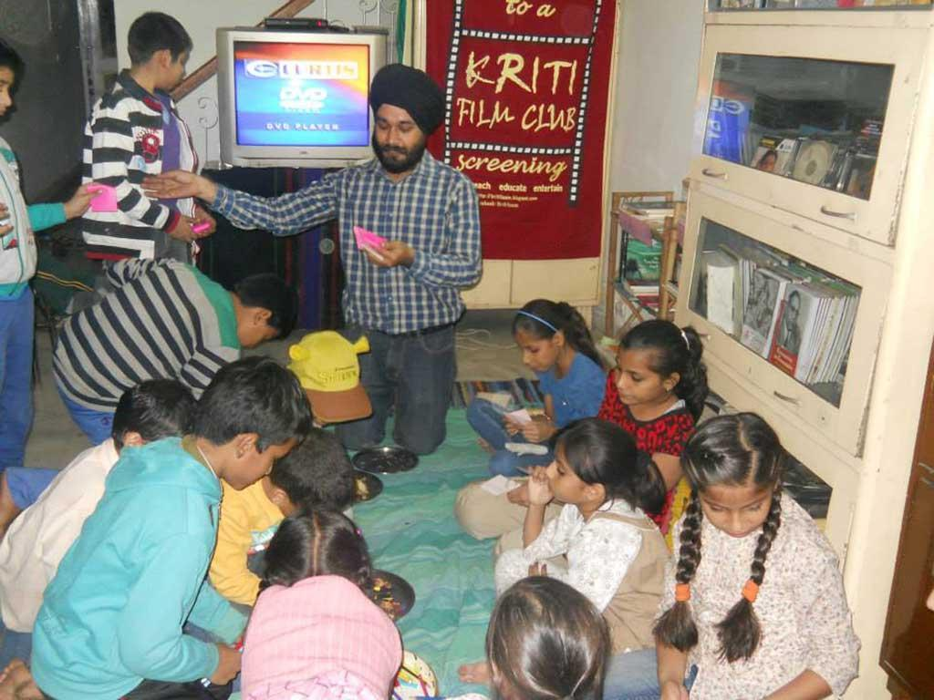 A Children's Day special screening at Kriti Film Club